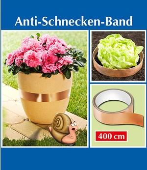 Anti-Schnecken-Band 3 x 400 cm,1 Set