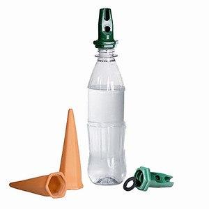 BIO GREEN Hydro Classic Tonkegel zur Bewässerung von Pflanzen PET Fl. 4er Set