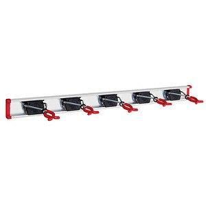 BRUNS Geräteleiste 0,75m, mit 5 Gerätehaltern