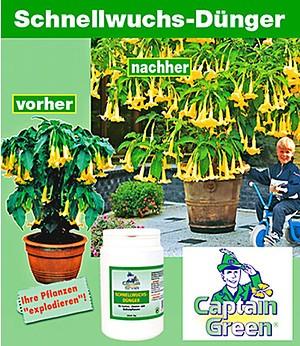 Captain Green Captain Green® Schnellwuchs-Dünger,1 kg