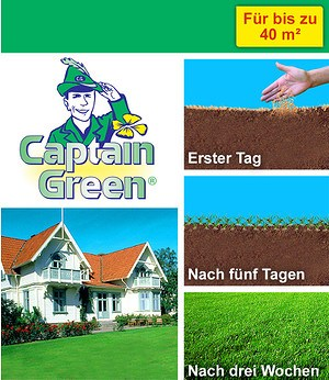 Captain Green Captain Green® Wunder-Rasen,1 kg