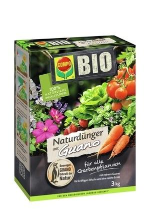 COMPO COMPO BIO NaturDünger Guano 3 kg