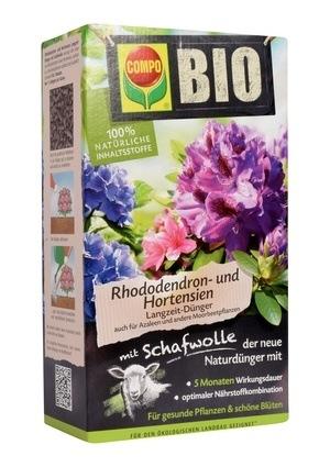 Compo COMPO BIO Rhododendron- und Hortensien Langzeit-Dünger 2 kg