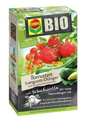 Compo COMPO BIO Tomaten Langzeit-Dünger mit Schafwolle 750 g