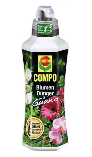 COMPO COMPO Blumendünger mit Guano 1 l