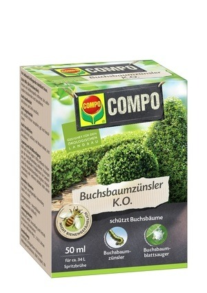 COMPO COMPO Buchsbaumzünsler K.O. 50ml
