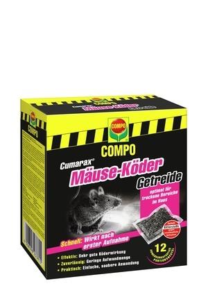 Compo COMPO CUMARAX Mäuse-Köder Getreide 120g