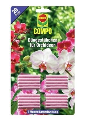 Compo COMPO Düngestäbchen für Orchideen (20 Stäbchen)