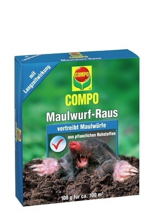 Compo COMPO Maulwurf-Raus 2 x 50 g Portionsbeutel