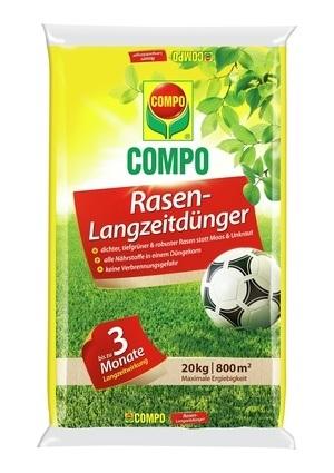 COMPO COMPO Rasen-Langzeitdünger 20 kg für 800 m²
