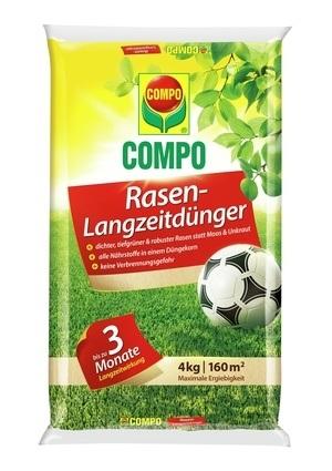 Compo COMPO Rasen-Langzeitdünger 4 kg für 160 m²
