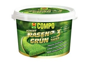 Compo COMPO RASEN(D) Grün Rasendünger 3,75 kg für 125 m²