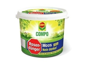 Compo COMPO Rasendünger Moos - Nein danke! 4 kg für 160 m²