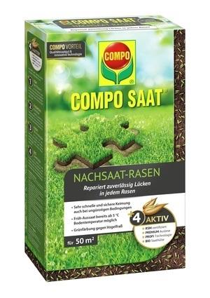 Compo COMPO SAAT® Nachsaat-Rasen 1 kg für 50 m²