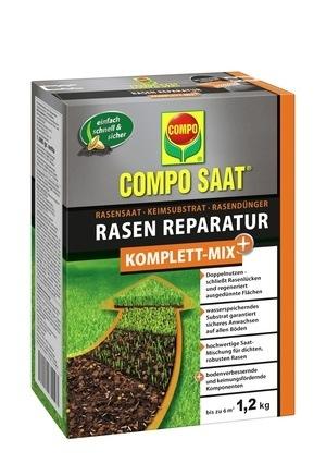 Compo COMPO SAAT® Rasen-Reparatur Komplett Mix+ 1,2 kg für bis zu 6 m²