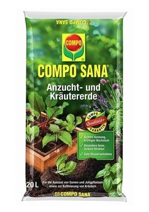 Compo COMPO SANA® Anzucht- und Kräutererde 20 L