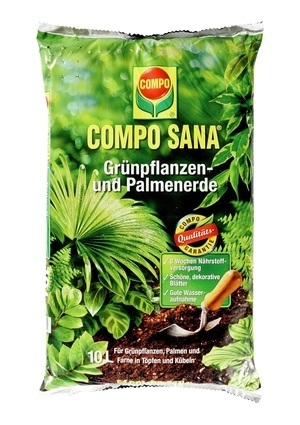 Compo COMPO SANA® Grünpflanzen- und Palmenerde 10 L