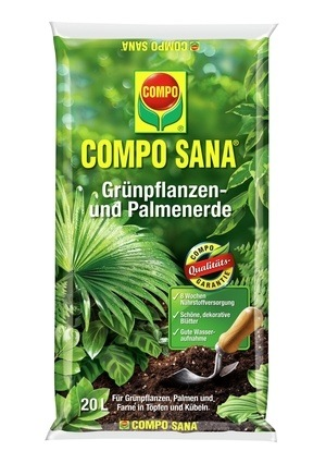 COMPO COMPO SANA® Grünpflanzen- und Palmenerde 20 L