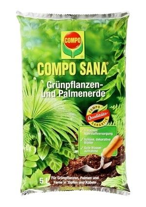 COMPO COMPO SANA® Grünpflanzen- und Palmenerde 5 L