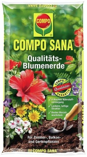 Compo COMPO SANA® Qualitäts-Blumenerde 10 L