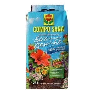Compo COMPO SANA® Qualitäts-Blumenerde ca. 50% weniger Gewicht 25 L