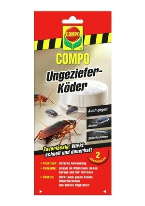 COMPO COMPO Ungeziefer-Köder 2 Dosen