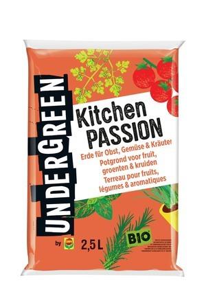Compo UNDERGREEN Kitchen Passion - Erde für Obst, Gemüse & Kräuter