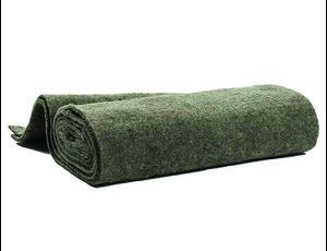 Daemwool Winterschutzmatte aus 100% Schafwolle, dunkel