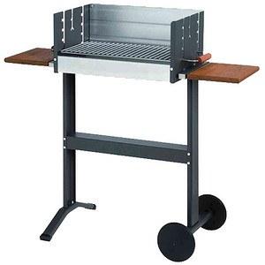 DAN COOK Grill 5200, Grillfläche: 50 x 25 cm, Fahrbar, mit Ablage