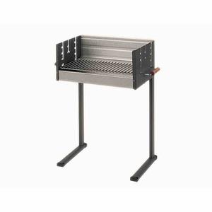 DAN COOK Grill 7100, Grillfläche 50x25cm, mit Holzgriffen