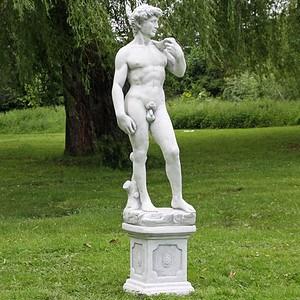David von Michelangelo auf Sockel, Replik