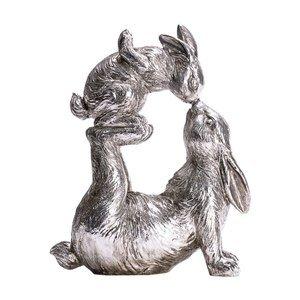Deko-Figur Spielende Hasen
