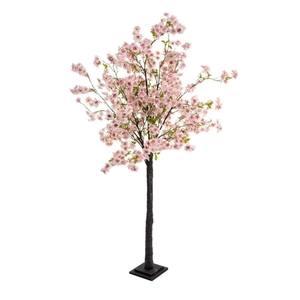 Deko-Kirschbaum Cherry Rosé Rosa/Weiß