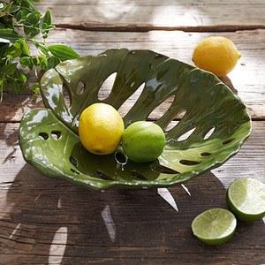 Deko-Schale Tropical Leaf