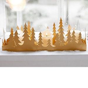 Deko-Tablett Golden Forest
