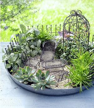 "Edelman Mini-Garten Starter-Set ""braun"" 9-teilig,1 Set"