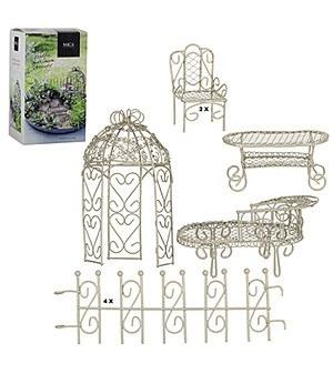 """Edelman Mini-Garten Starter-Set """"weiß"""" 9-teilig,1 Set"""