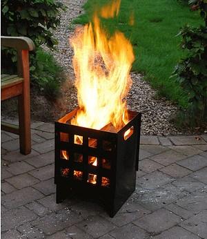 Esschert Design Feuerkorb Cubus,1 St.