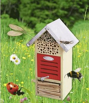 Esschert Design Insektenhotel 32x19x14,5 cm,1 Stück