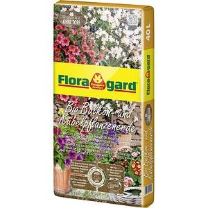 Floragard Bio Balkon- und Kübelpflanzenerde ohne Torf