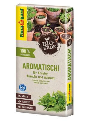 Floragard Bio-Erde Aromatisch torffrei 1x40L