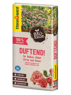 Floragard Bio-Erde Duftend ohne Torf 1x40L