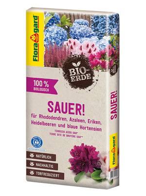 Floragard Bio-Erde Sauer torfreduziert 1x40L