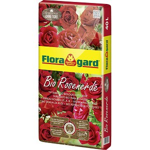 Floragard Bio Rosenerde ohne Torf
