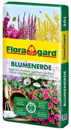 Floragard Blumenerde 20L + 40% gratis, 1 x 28L