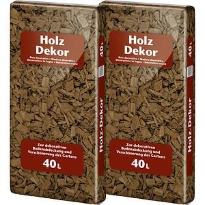 Floragard Holzdekor Braun