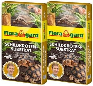 Floragard Schildkrötensubstrat 2 x 50L