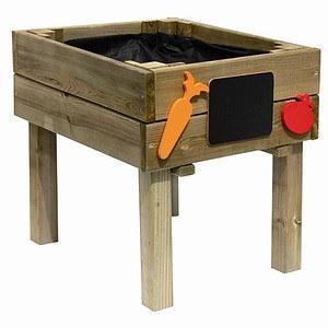 FOREST-STYLE Holz-Kinder-Lernbeet mit Zubehör Maße: 40x50x46cm