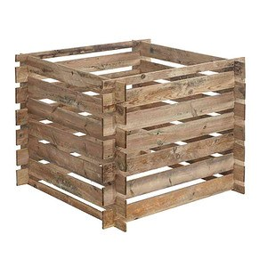 FOREST-STYLE Komposter Mezzito 480L, Maße:100x100x72cm 100x100x72cm