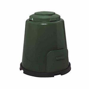 GARANTIA Komposter 4teilig 280l grün